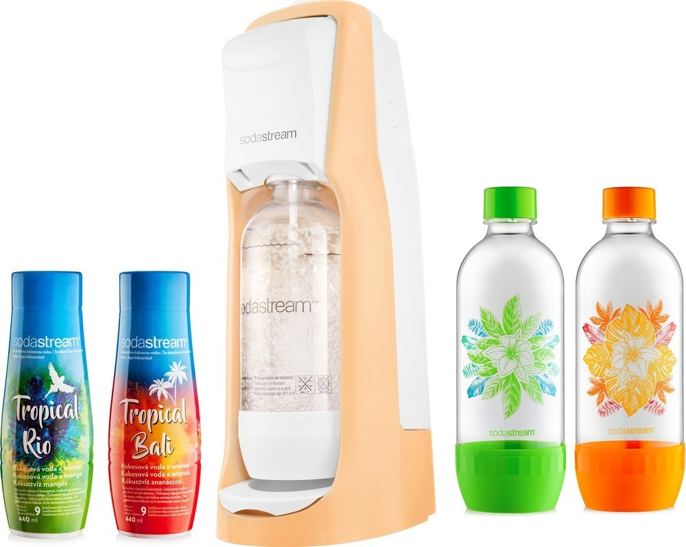 SodaStream Jet Pastel OR Tropical XL