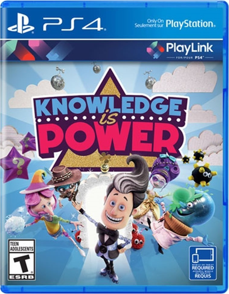Sony Knowledge is Power hra PS4