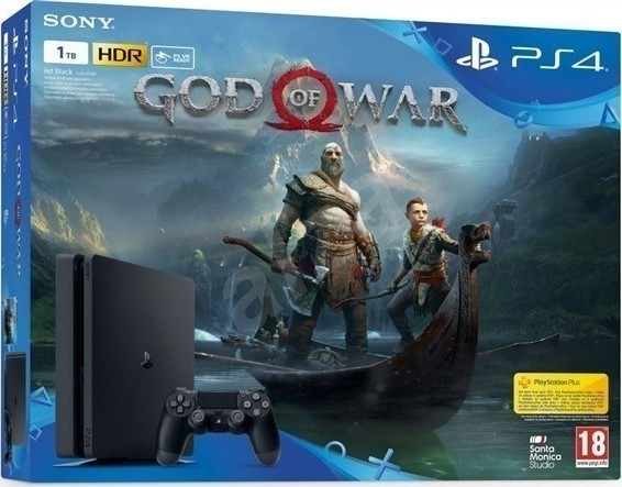 Sony PlayStation 4 Slim 1TB + God of War