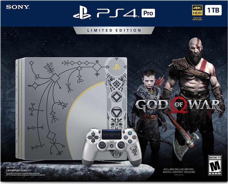 Sony PS4 Pro 1TB + God of War