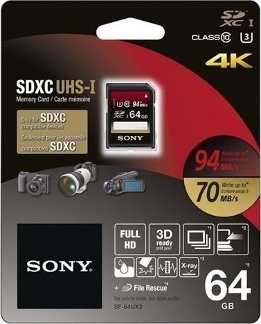Sony SDHC UHS-1 64GB