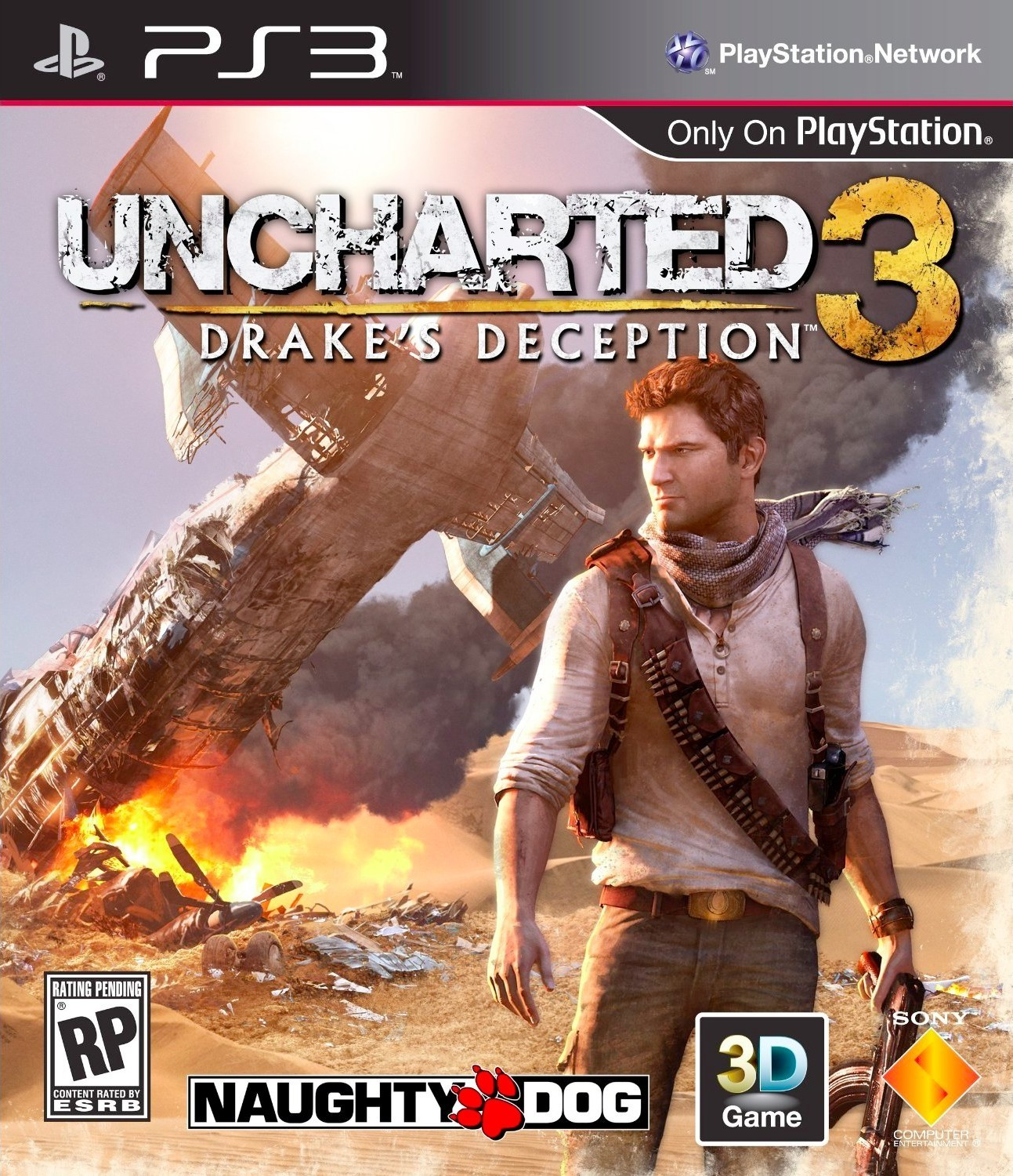 Sony Uncharted 3 PS3