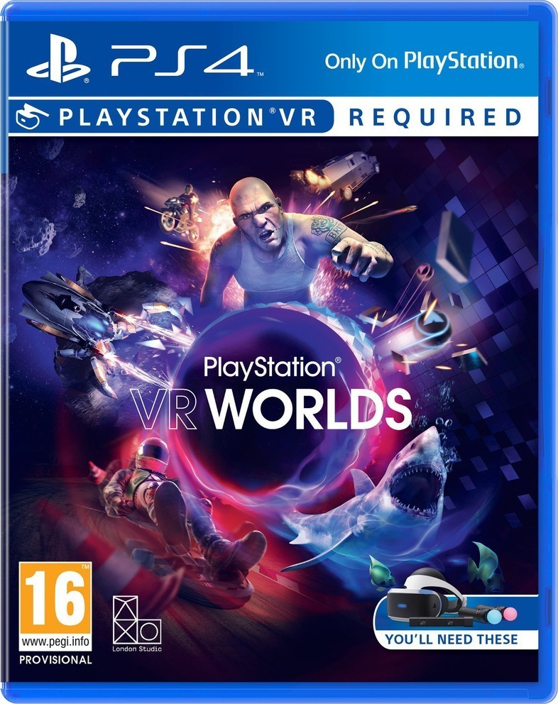 Sony VR Worlds hra PS4