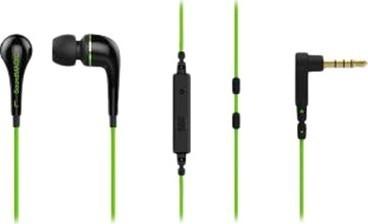 SoundMAGIC ES11S headset černá/zelená