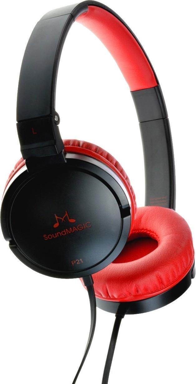 SoundMAGIC P21 černá/červená