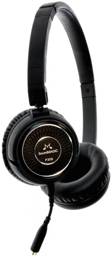 SoundMAGIC P30S headset černá