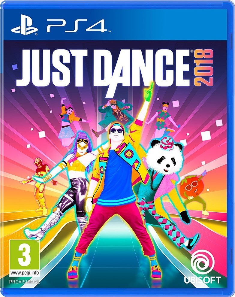 Ubisoft Just Dance 2018 hra PS4