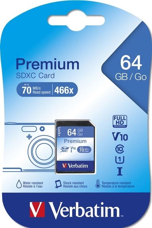 Verbatim 44024 SDXC 64GB class 10