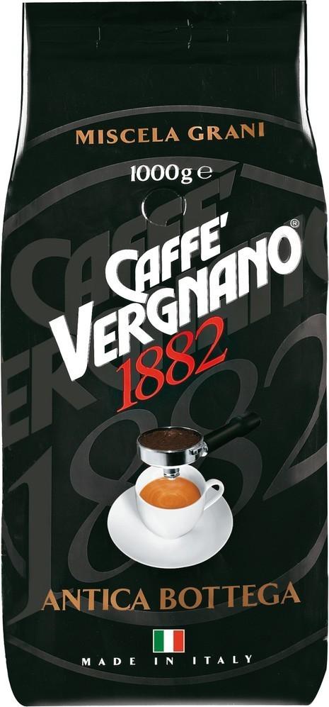 Vergnano Antica Bottega 1000g zrnková káva