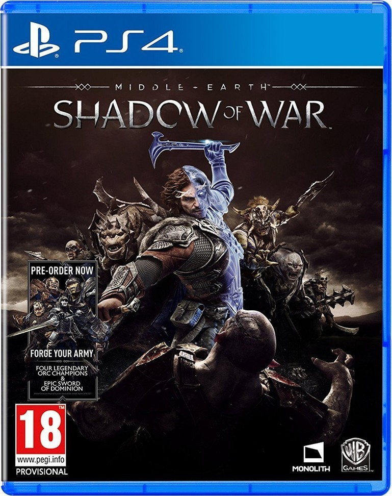 WARNER BROS. Middle-Earth: Shadow of War hra PS4