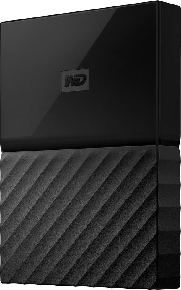 WD HDD 1TB USB3.0 Passport new BK