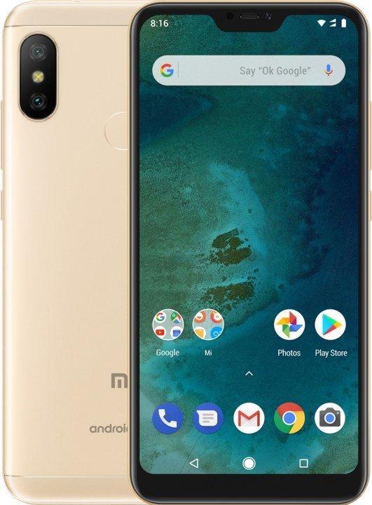 Xiaomi Mi A2 LITE Gold 4GB/64GB