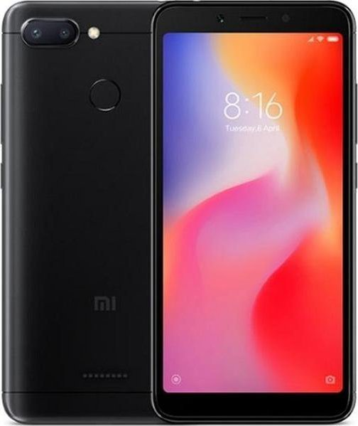 Xiaomi Redmi 6 Black 3GB/32GB