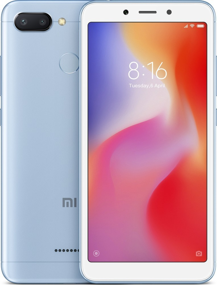 Xiaomi Redmi 6 Blue 3GB/32GB