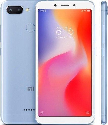 Xiaomi Redmi 6 Blue 4GB/64GB
