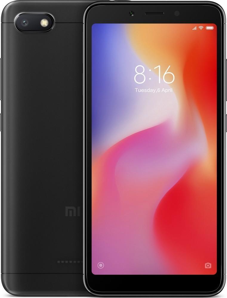 Xiaomi Redmi 6A Black 2GB/16GB