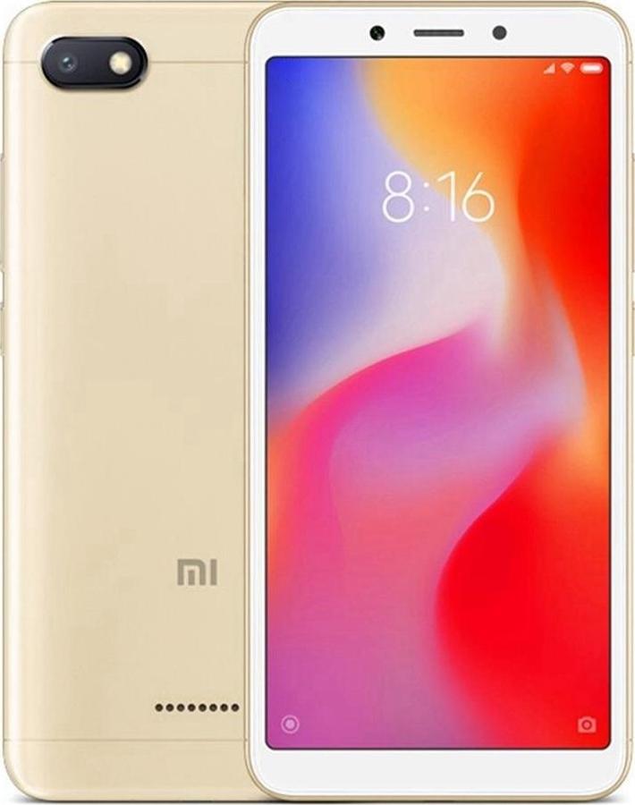 Xiaomi Redmi 6A Gold 2GB/16GB