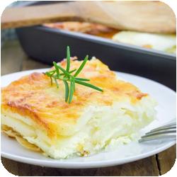 Gratinované francouzské brambory