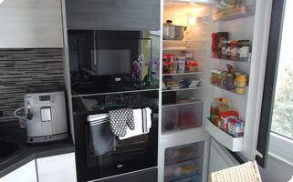 Vestavná lednička s mrazákem