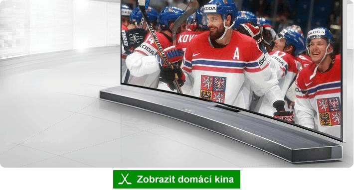 Parádní zvuk pro sledování hokeje - domácí kino