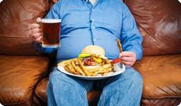 Obezita vede k vysokému krevnímu tlaku
