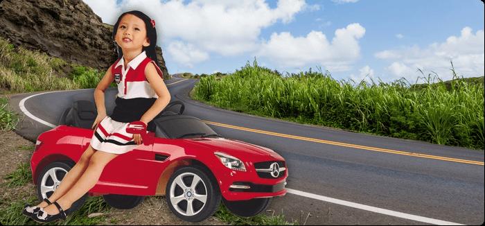 Venkovní autíčka pro holky