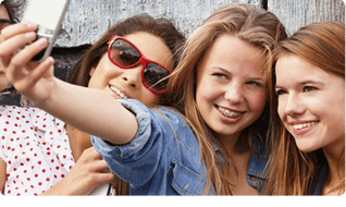 Telefon na selfie