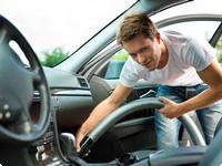 Vysavač pro tepování a čištění auta