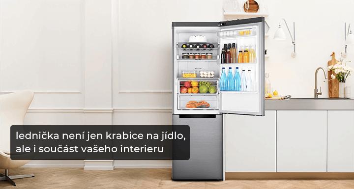 Lednice je i designový doplněk