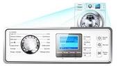 displej pračky, led indikace