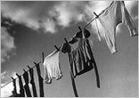 přeschlé prádlo