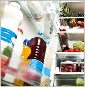 Uspořádání ve dveřích lednice