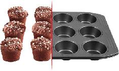 Formy na bábovky, muffiny a plechy