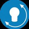 Small beko australia cooling active fresh blue light icon