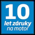 Product detail cz 10 let motor ikona modra